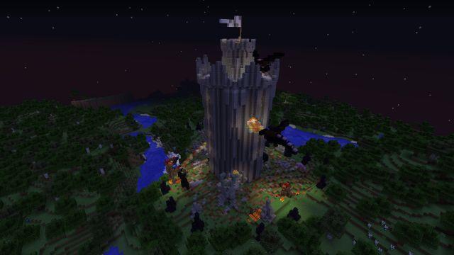 Чудовищный штурм башни! (1)