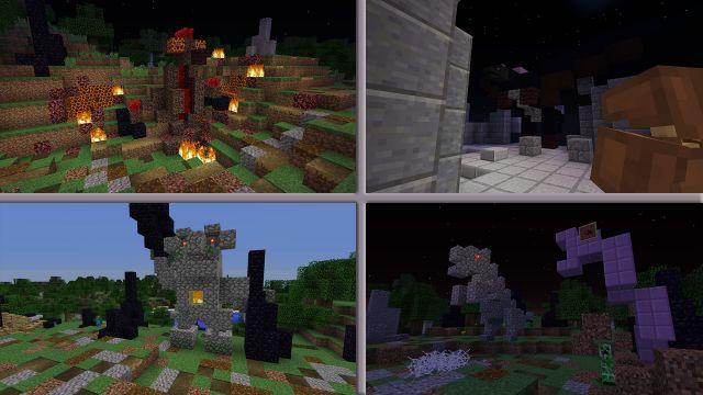Чудовищный штурм башни: монстры!
