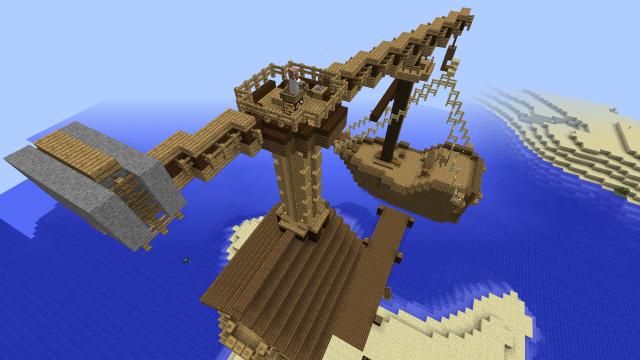 Спуск корабля на воду (5)
