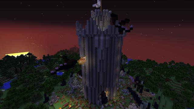 Чудовищный штурм башни! (2)