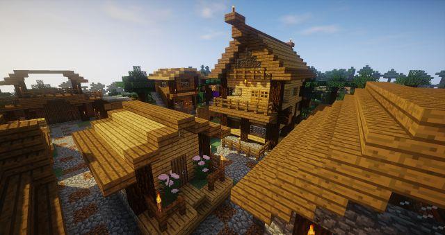 Лесная деревня tovarisch_che
