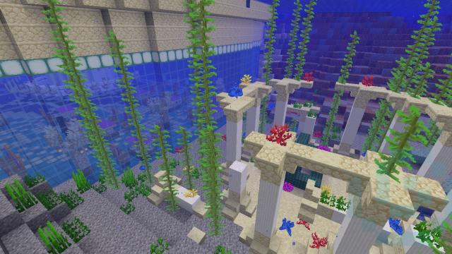 Южная сторона подводного ресторана