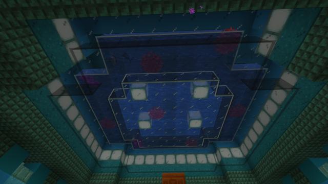 """Потолок в комнате Стража призмариновой фермы """"Изумрудный Страж"""""""