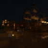 Ночной берег района Акантиладо