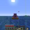 Летящий за лодкой