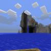 Водопад прямо в море