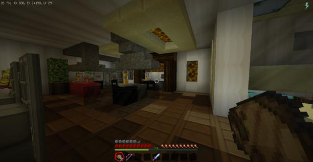 Дом в SunCity, комната отдыха