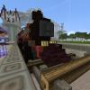 старый поезд в SunCity